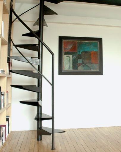 cr ation et design d 39 escaliers h lico daux. Black Bedroom Furniture Sets. Home Design Ideas