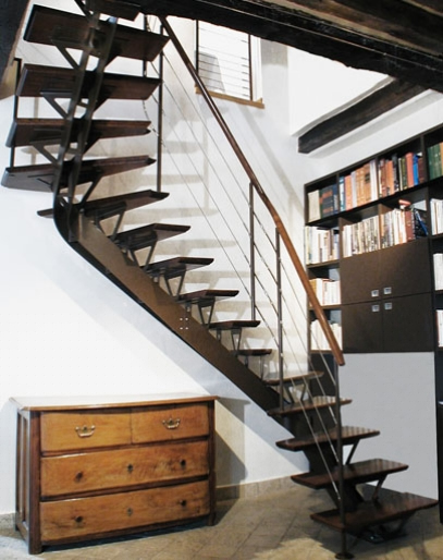 escalier. Black Bedroom Furniture Sets. Home Design Ideas